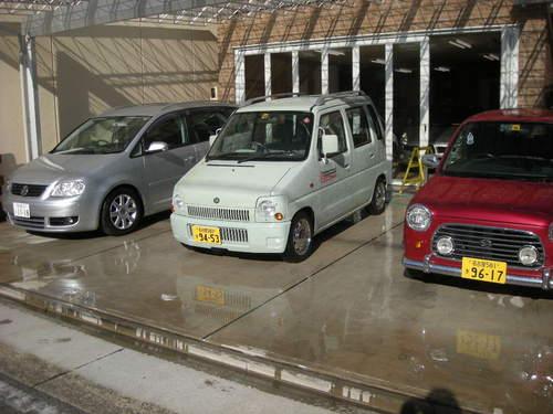 3台まとめて洗車111231.JPG