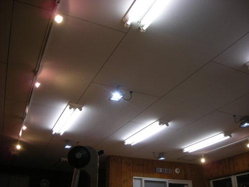 ガレージ照明130702.JPG